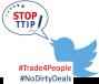 Stop TTIP: una tempesta di tweet sul consiglio Ue del 15ottobre