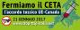 Il 21 gennaio è #StopCETA, l'Europa simobilita