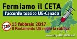 15 febbraio 2017 #StopCETA: Il Parlamento UE neghi laratifica