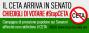 #StopCETA: via alla mobilitazione permanente per bloccare laratifica