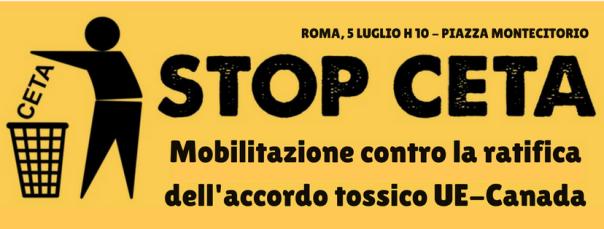 stop CETA FB 5 luglio
