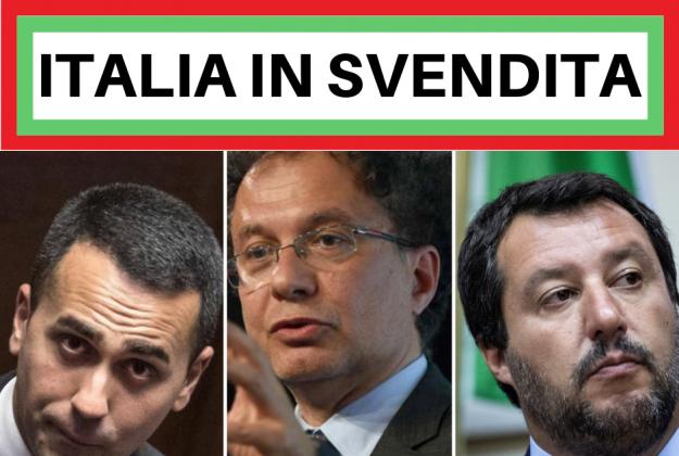 Risultati immagini per On. Di Maio, on. Salvini, on. Geraci